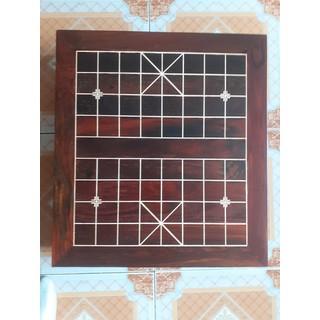 Bàn cờ tướng bằng gỗ trắc, bàn cờ chân bàn đứng - 1506_48171344 thumbnail