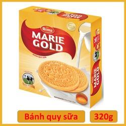 BÁNH QUY SỮA MARIE GOLD 320GR.HSD: 23/11/21
