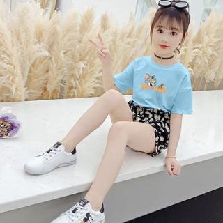 Bộ quần áo trẻ em 32-45kg dành cho bé gái mẫu Tom&Jerry. Thiết kế đáng yêu, màu sắc bắt mắt - Set Tom&Jerry thumbnail