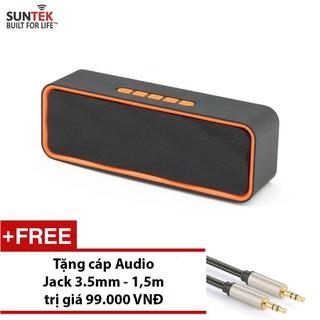 LOA Bluetooth SUNTEK SC211 Cam đen + Tặng Jack 3.5mm - 230286556 thumbnail