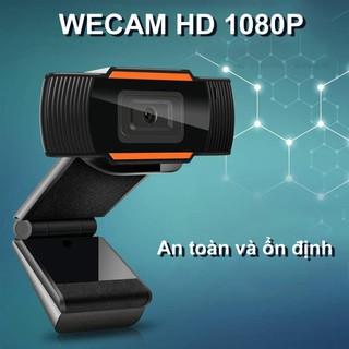 Webcam Máy Tính Full HD Siêu Nét 1080P Xoay 360 Độ, Tích Hợp Thu Âm - Phù Hợp Học Họp Trực Tuyến Online - DCTE0034 thumbnail