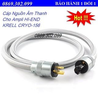 Cáp Nguồn Âm Thanh Cho Ampli HI-END KRELL CRYO-156 Made In USA Dài 1.5m - Hàng Chính Hãng - KRELL CRYO-156 1.5m - KRELL CRYO-156 thumbnail