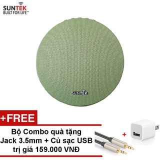 Loa bluetooth SUNTEK Ws-1625 kiêm pin sạc dự phòng (Xanh) - 421216729 thumbnail