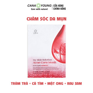 MẶT NẠ NGỪA MỤN CHĂM SÓC DA HÀN QUỐC ACNE CARE MASK_CANA MY SKIN SOLUTION - SM-AC-001A thumbnail