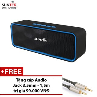 LOA Bluetooth SUNTEK SC211 Xanh đen + Tặng Jack 3.5mm - 230292752 thumbnail