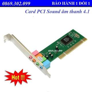 Card PCI Sound âm thanh 4.1_ card âm thanh - Card PCI Sound 4.1 thumbnail
