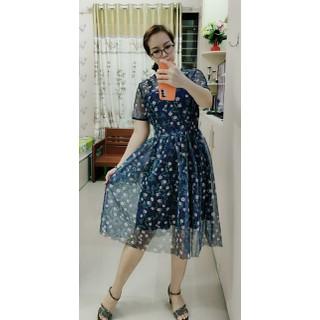 Đầm ren lưới hoa dịu dàng-Shop MỘC-Mã MD09 - 2486_48241771 thumbnail