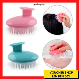 Lược Gội Đầu Massage Silicon Nhật Bản Chống Rụng Tóc, Massage Da Đầu Kích Thích Mọc Tóc - LUOCMASSAGE thumbnail