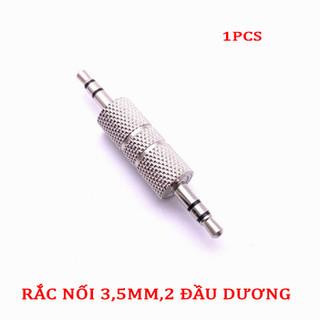 Rắc Nối 3,5mm.2 Đầu Dương (2 chiếc) - SKU NỐI 3,5MM-2PCS 2
