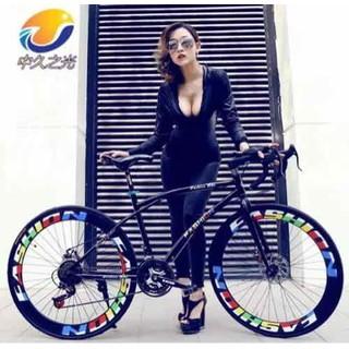 Xe đạp thể thao bánh 700c, xe đạp đường phố - xe đg phố thumbnail
