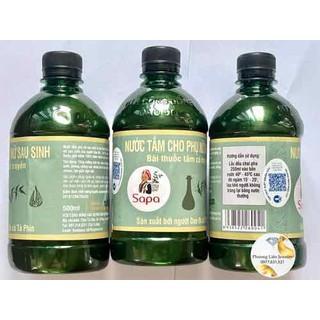 [Giá tận gốc] Nước tắm Dao Đỏ Sapa 500ml cô đặc thảo dược quý phục hồi tăng cường sức khỏe hiệu quả 100% - NTSSS thumbnail