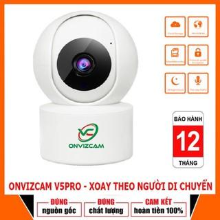 [BẢO HÀNH 5 NĂM - HÀNG CHÍNH HÃNG] Camera WIFI thông minh Onvizcam V5PRO 2.0MP Xoay 360 độ, phát hiện chuyển động - 3268_48247585 thumbnail