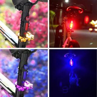 Đèn hậu xe đạp - Đèn led thumbnail