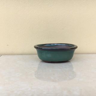 Chậu bonsai ovan mini men hỏa biến gốm Bát tràng 1 size BM-08 - 8074530514 thumbnail