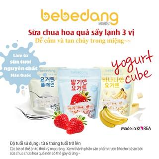 Combo 3 gói Sữa chua khô hoa quả sấy lạnh Bebedang - Vị dâu, chuối, sữa chua - 1315_48313802 thumbnail