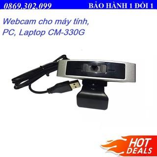 Webcam cho máy tính, PC, Laptop CM-330G - Webcam học online tại nhà CM-330G - CM-330G thumbnail