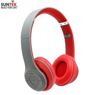 TAI NGHE Bluetooth STN-019(Đỏ Xám) - 103388475 thumbnail