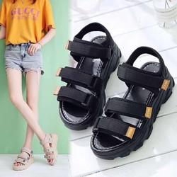 giày sandal nữ  Big size đế bánh mì mẫu mới A88