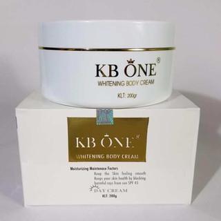 Kem body dưỡng trắng da toàn thân ban ngày KB One 200g - 8936095370167-1 thumbnail