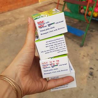 Bột Cắm Hoa Lily Tươi Lâu, Hiệu Longlife nhập khẩu Isarel (Bộ 30 gói) - 30 gói longlife thumbnail