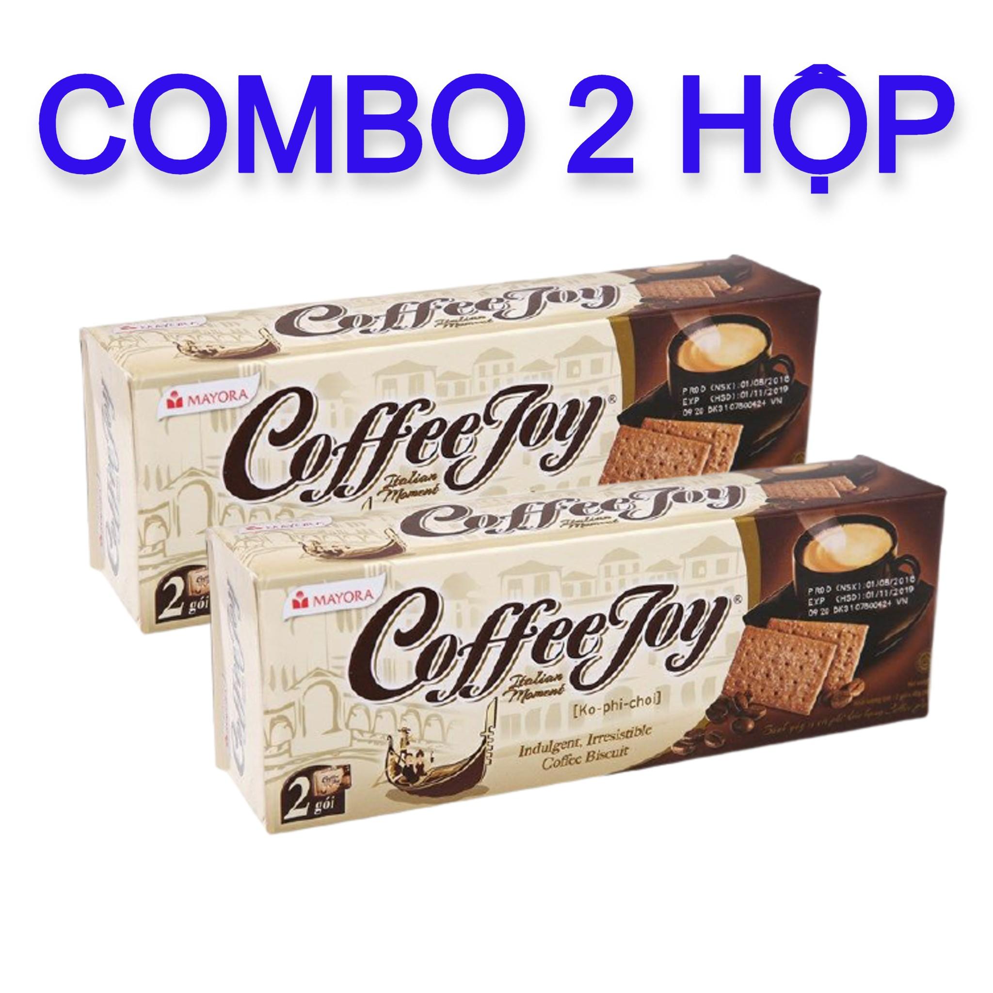 COMBO 2 HỘP BÁNH JOY COFFEE 90G (HSD: 01/2022)