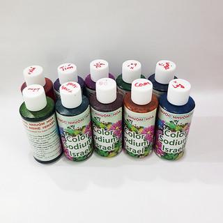 Set 10 Chai Nước Nhuộm Hoa Tươi Công Nghệ Israel (10 chai màu 100ml) giúp học sinh nhuộm đổi màu hoa theo ý muốn tại trường và tại nhà - 1 sét màu nhuộm thumbnail