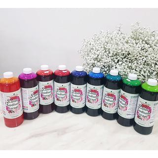 Dung Dịch Nhuộm Hoa tươi Đổi 10 Màu (Combo 10 chai x 10 màu) theo Công Nghệ Israel giúp hoa nhuộm đổi màu theo ý muốn The Color Sodium for Fresh Flowers - 10 chai màu thumbnail