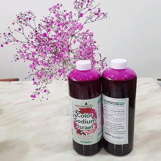 Nước Nhuộm Hoa Tươi Màu Hồng (Set 2 Chai) theo công nghệ Israel Color Sodium For Fresh Flowers giúp nhuộm đổi màu hoa cắt cành thành màu hồng đậm Pink - 2 chai nhuộm thumbnail