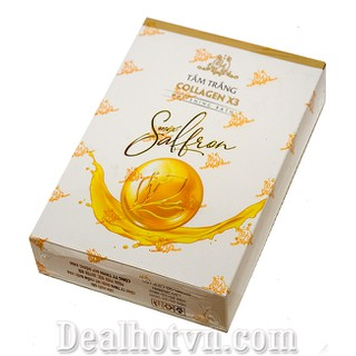 Tắm trắng Collagen x3 saffron kích trắng da chống lão hóa ngừa nhăn da dưỡng ẩm và mịn da nâng tone - Tắm trắng thumbnail