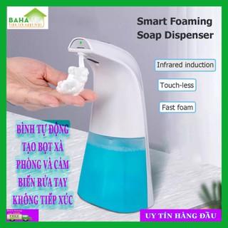 BÌNH TỰ ĐỘNG TẠO BỌT XÀ PHÒNG VÀ CẢM BIẾN RỬA TAY KHÔNG TIẾP XÚC BAHAMAR Dễ dàng lắp đặt, xà phòng hoặc nước rửa tay diệt khuẩn có thể được nạp trực tiếp vào và tự động tạo bọt - 0416 thumbnail