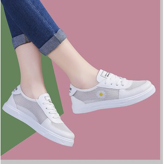 Giày Thể Thao Nữ Hoa Cúc Cực Đẹp Dễ Phối Đồ VG8 - VG8 thumbnail