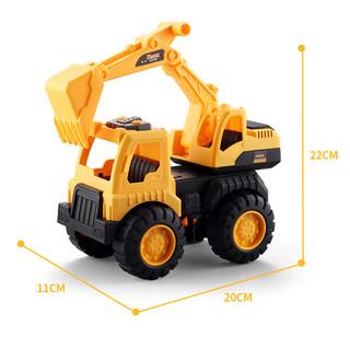 Bộ đồ chơi ô tô mô hình loại xe xây dựng Xe Máy Xúc cho trẻ em,cho bé thoả sức sáng tạo,Loại Nhựa ABS Cao Cấp - 1490_48435656 thumbnail