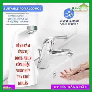 BÌNH CẢM ỨNG TỰ ĐỘNG PHUN CỒN HOẶC NƯỚC RỬA TAY KHỬ KHUẨN BAHAMAR Tự động phun xịt cồn (nước rửa tay khử trùng) để sử dụng mà không cần tiếp xúc - 0415 thumbnail