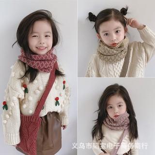 MS155 Khăn len ống họa tiết Hàn Quốc cho bé - MS155 thumbnail