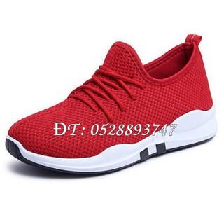 Giày thể thao nữ thời trang buộc dây, đế sọc Mã số 405 - 4163_48457374 thumbnail