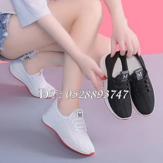 Giày thể thao nữ thời trang du lịch dạng lưới thoáng khí, đế mềm - Mã số 313 - 4163_48457319 thumbnail