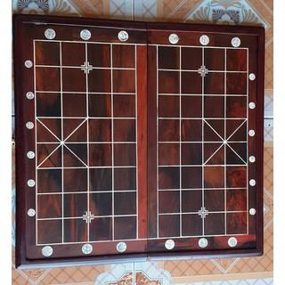 Bàn cờ tướng Bằng gỗ trắc, - VUÔNG 60X60X3,5CM thumbnail