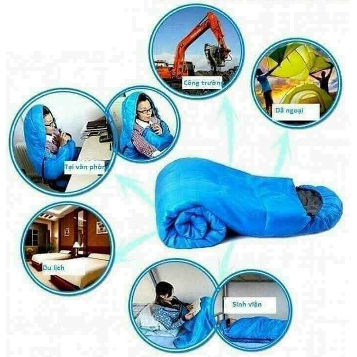 Túi ngủ dành cho dân văn phòng hoặc du lịch tiện lợi - 3691_48474015 3