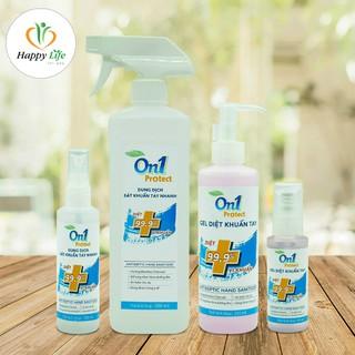 Dung dịch sát khuẩn tay nhanh On1 Protect nhiều mùi hương - Sạch khuẩn, tiện dụng - ddrt-250mlhươngBamBoo thumbnail