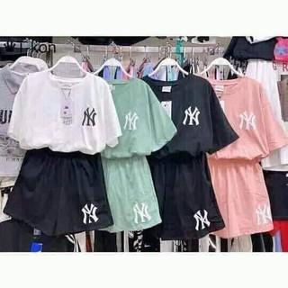 đồ bộ thun ngắn, đồ bộ, đồ dã ngoại, set đồ - SDN2021 thumbnail
