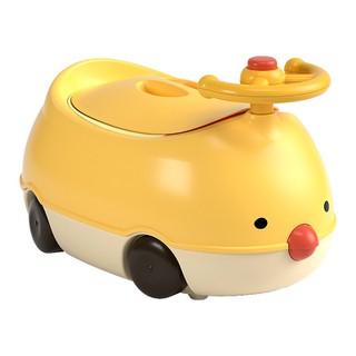 Bô cho bé đi vệ sinh hình ô tô có còi và bán lái chính hãng có đệm - 8686612183 thumbnail