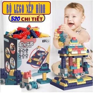 Bộ Lego Lắp Ráp Đa Năng 520 Chi Tiết Giúp Bé Phát Triển Trí Tuệ Thông Minh - bxmmm thumbnail