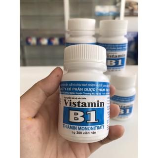COMBO 2 lọ Vistamin B1 Đại Uy (lọ 300 viên nén) Bổ sung Vitamin B1 cho cơ thể, hỗ trợ cải thiện tình trạng thiếu hụt vitamin nhóm B1 - Vistamin B1 Đại Uy (lọ 300 viên nén) thumbnail