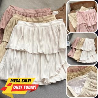 Chân váy nữ, chân váy xếp ly nhiều lớp dày dặn 3 màu nude hồng trắng đủ size S M L CV-02 - CV-03 thumbnail