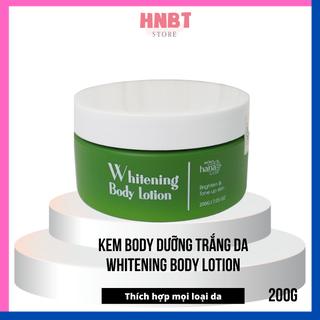 Kem body trắng da hàn quốc siêu trắng Riori Whitening Body Lotion 200g - BDR17 thumbnail