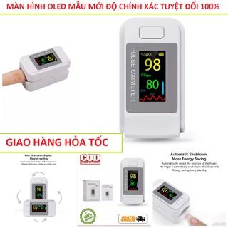 Máy đo nồng độ Oxy trong máu và nhịp tim SPO2 phiên bản mới màn hình OLED đa chiều , máy đo nhịp tim chính hãng - a01 thumbnail