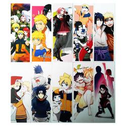 Hộp 36 Bookmark Uzumaki Naruto 36 Tấm Đánh Dấu Sách Bìa Cứng ( Truyền Nhân Cửu Vĩ Hồ ) Mẫu Mới Số 07-09-11-13