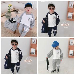 Bộ quần áo thu đông trẻ em 7-17kg (1-5 tuổi) dành cho cả bé trai và bé gái mẫu Snoopy - Snoopy thumbnail