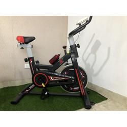 [Hàng chính hãng] Xe đạp thể dục cao cấp Toshiko, màn hình hiển thị nhịp tim, thời gian, quãng đường, ...