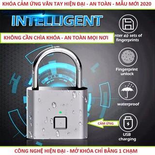 Khóa cửa chống trộm cảm ứng vân tay thông minh bản đặc biệt siêu nhạy - v96 thumbnail